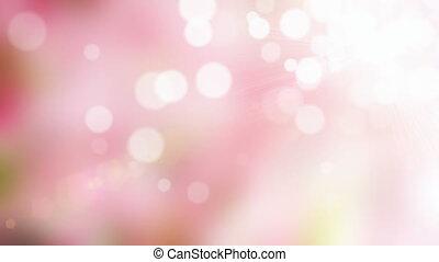 Pink blurs background