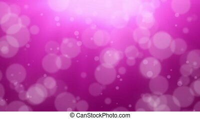 Pink Bokeh Dot Background