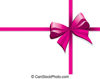 bow - pink bow background