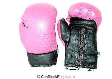 Gloves - Pink Box Gloves