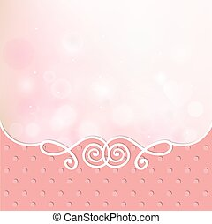 pink card frame cover