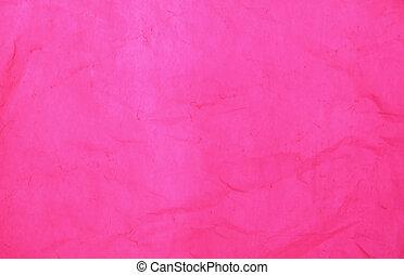 pink cellophane