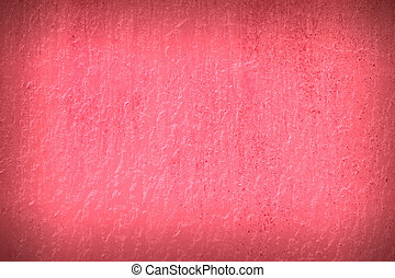 pink cement background
