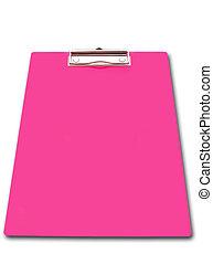Pink Clip Board