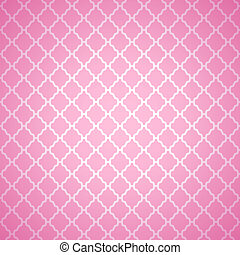 Pink cloth texture background. Vector illustration