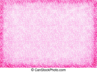 pink color background with flowers
