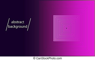 pink color squares with gradient as abstract background