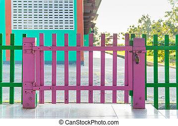 Kindergarten Fence Kindergarten Playground Area