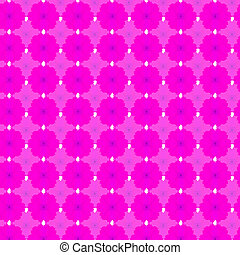 Pink cosmos seamless pattern background