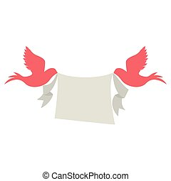 couple of dove birds