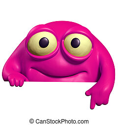 pink cute beast