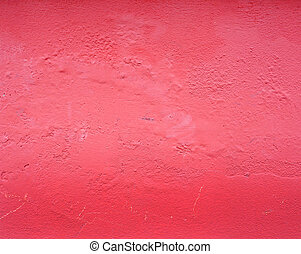 pink decorative plaster wall texture close up
