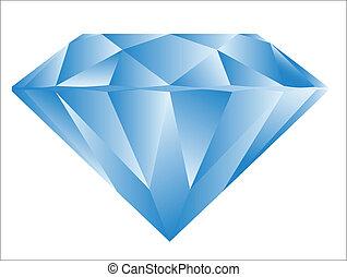 Pink Diamond - Diamond anatomy pattern in standard cut for...