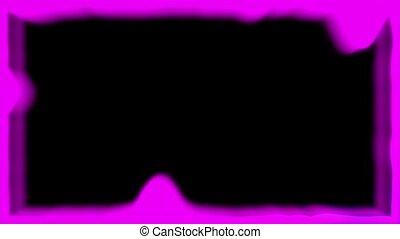 pink equalizer on a black background frame - pink equalizer...