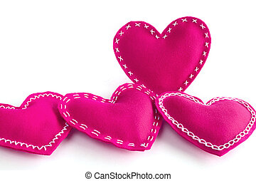 Valentines day hearts