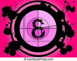 Pink Film Countdown - At 8