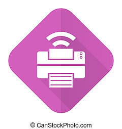 pink flat icon