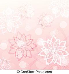 pink floral background 2