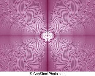 Pink floral image