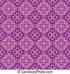 Pink fun seamless pattern
