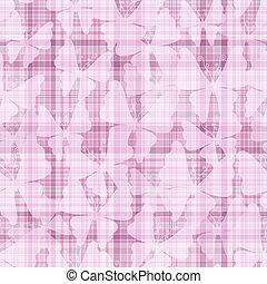 Pink gentle seamless pattern