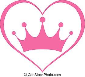 Pink Girly Princess Royalty Crown