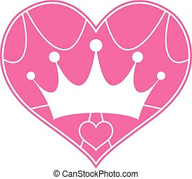 Pink Girly Princess Royalty Crown