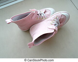 Pink Girly Sport Shoes