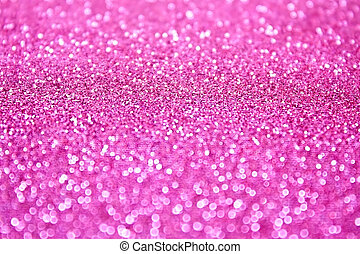 Pink Glitter - Pink glitter bokeh background