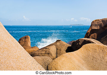Pink Granite Coast in Brittany