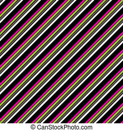 Pink Green Black Diag. Stripe Paper - diagonal Stripe Paper...