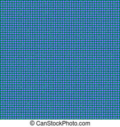 Pink Green Blue Woven Basketweave Background