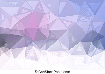 Pink grey random sizes low poly background - Pale pink grey...