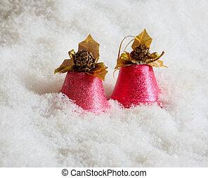 Pink handbells