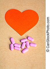 Pink Heart Pills.
