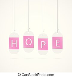Pink Hope Tags