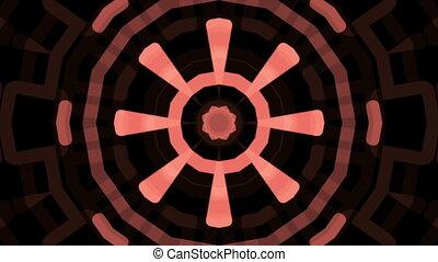 Pink kaleidoscope Tunnel