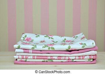 Pink Kitchen Towels