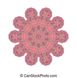 Pink lacy background