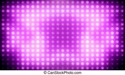 Pink led loop animated VJ background