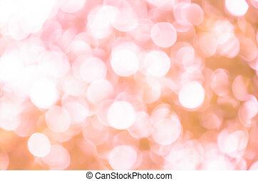 Pink light bokeh background