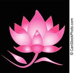 Pink Lotus background