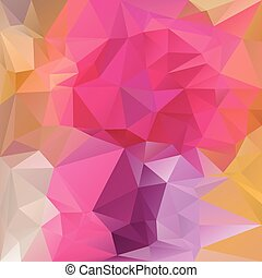 pink magenta polygonal triangular