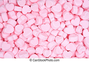 marshmallow - pink marshmallow for Valentine Day as ...