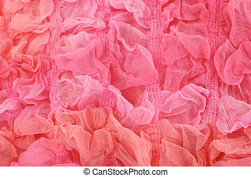 pink material background - pink textile sheer knitted ...