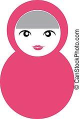 Pink Matryoshka Doll