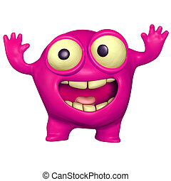 pink monster