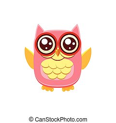 Pink Owl Wants A Hug