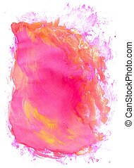 Pink Painted Background