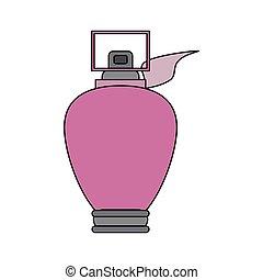 pink perfume bottle icon image